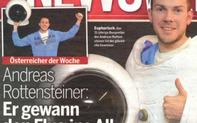 ANDREAS ROTTENSTEINER – SPACE TRAVELLER AUSTRIA